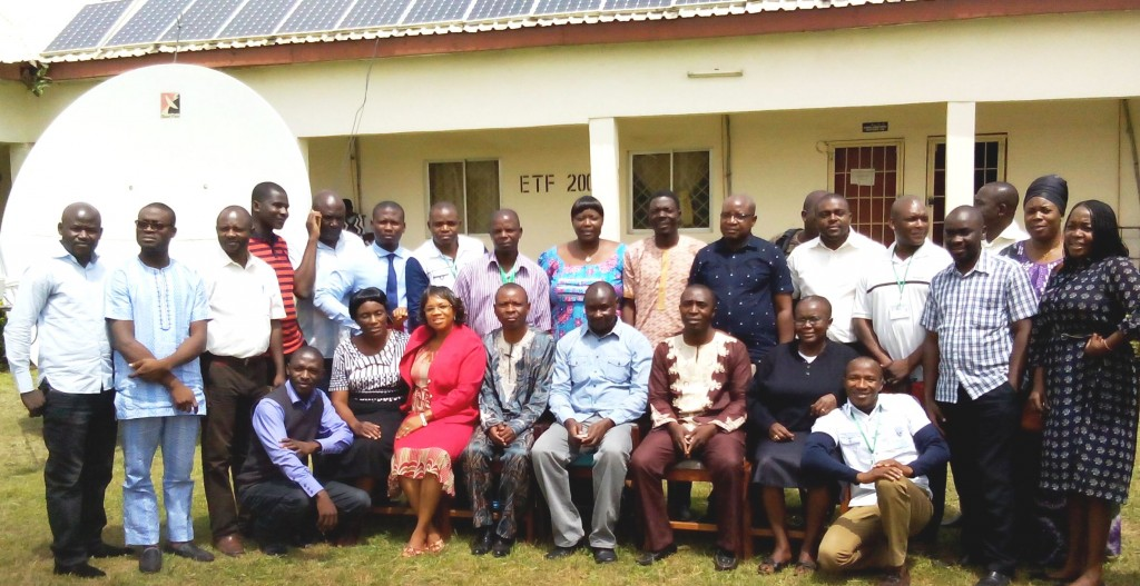 MRPP students, faculty and visiting lecturers at the University of Jos