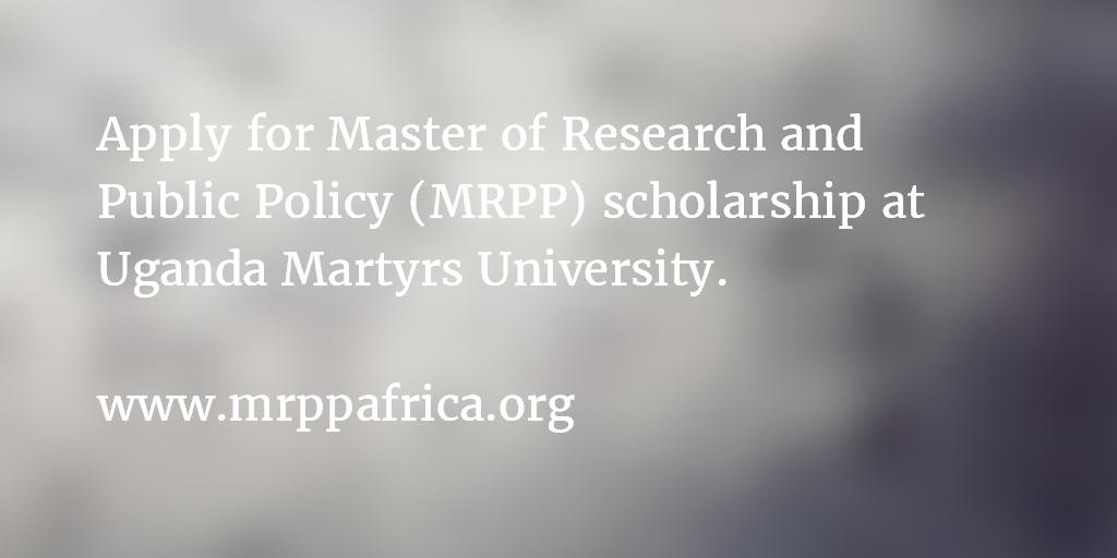 UMU MRPP scholarship announcement